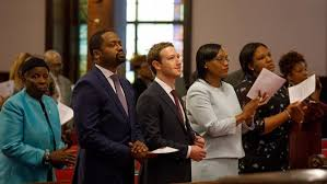 Facebook CEO Mark Zuckerberg Attends Charleston AME Church Service