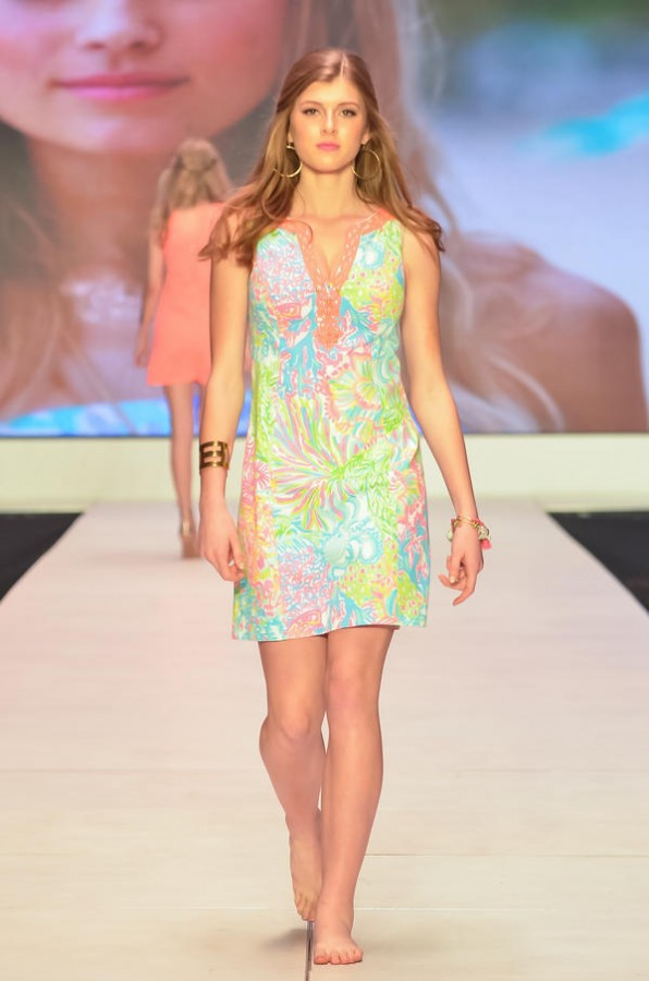 White+in+the+Lilly+Pulitzer+runway+show