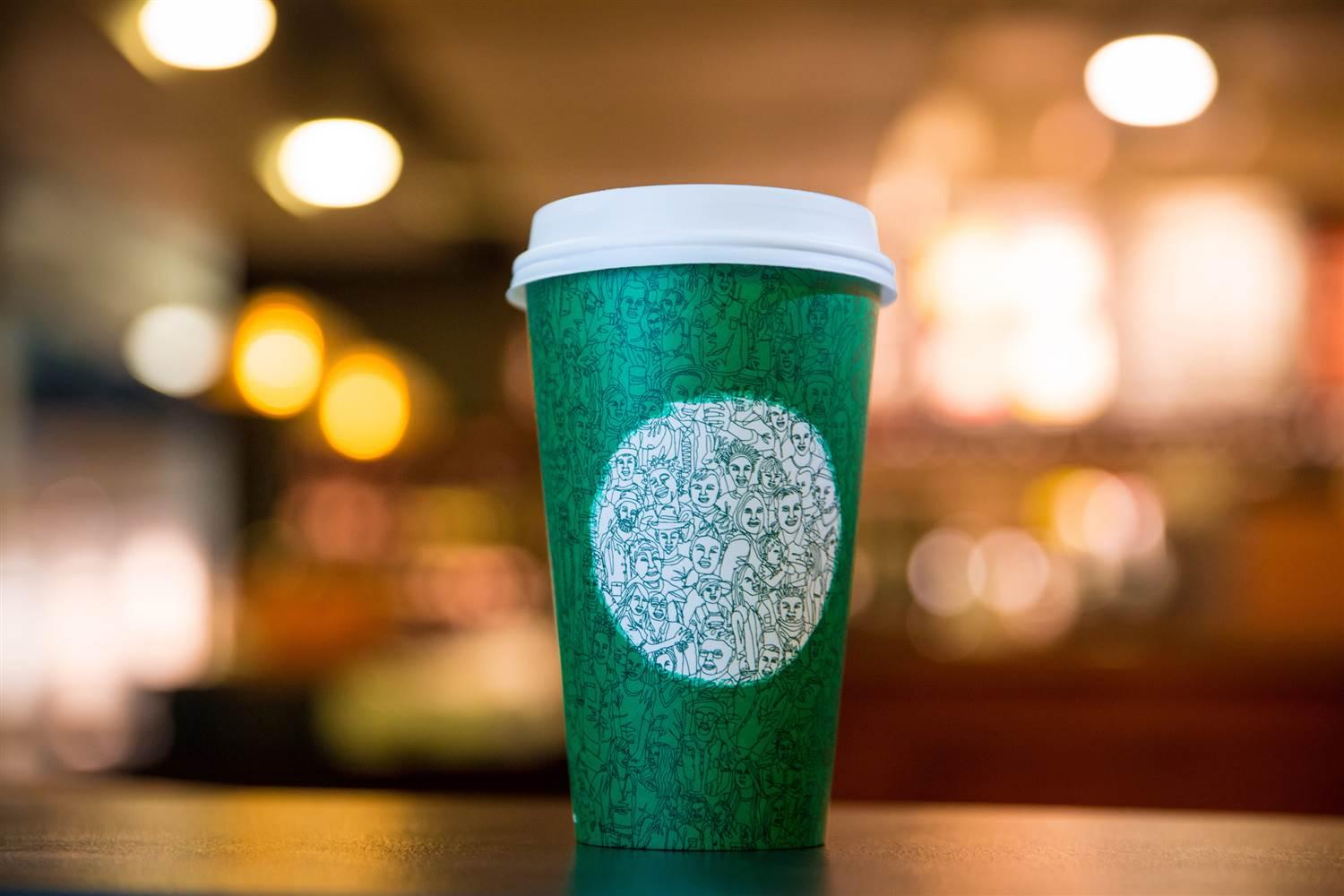 Starbucks holiday cup Google search