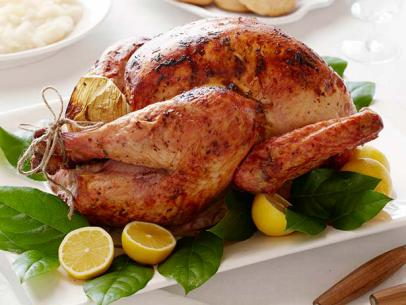 This+Perfect+Roasted+Turkey+is+a+basic+part+of+your+perfect+average+Thanksgiving+dinner.+Food+Network+adds+a+lemon+zest+touch+to+it.+This+recipe+also+includes+multiple+different+spices+like+pepper%2C+thyme%2C+onion%2C+salt%2C+and+garlic.+