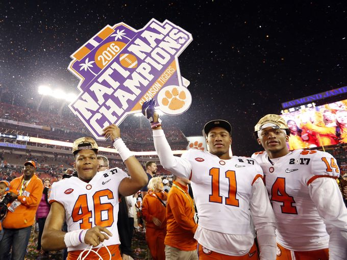 Clemson+University+Claims+NCAA+Football+Title+