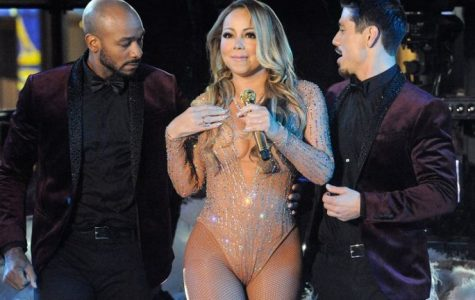 Mariah Carey performs during a concert in Times Square on New Year's Eve in New York, Dec 31, 2016