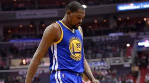 Kevin Durant Suffers Knee Injury