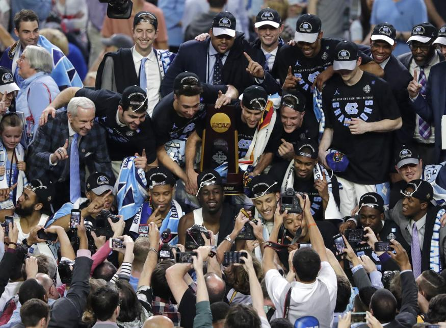 UNC+2017+Basketball+National+Champions+
