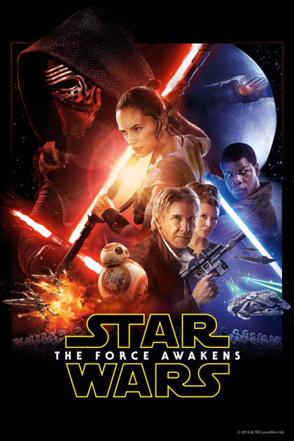 Use the force to go see The Force Awakens!