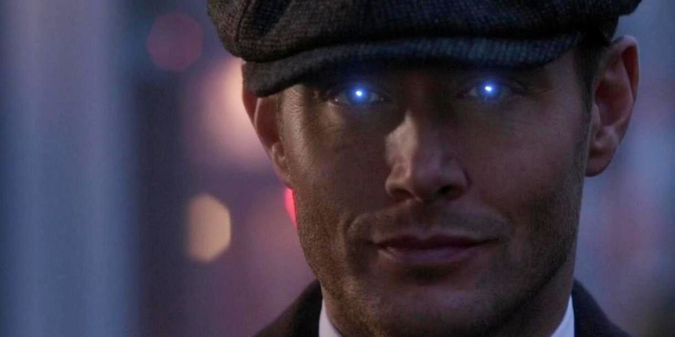 Michael-possessed Dean. Credit: http://www.digitalspy.com/tv/supernatural/news/a865478/supernatural-season-14-dean-winchester/