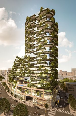 Vertical Forests Arrive in Toronto