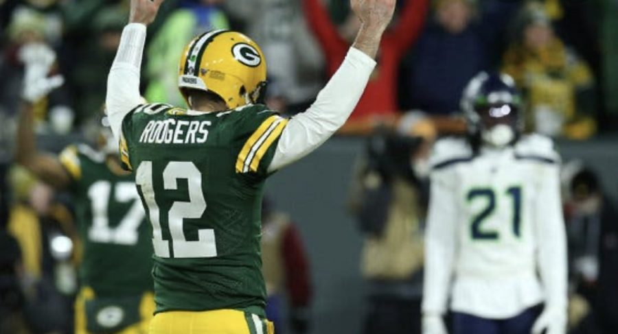 The+Packers+beat+the+Seahawks