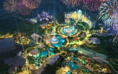 Epic Universe Theme Park at Universal Pauses Construction
