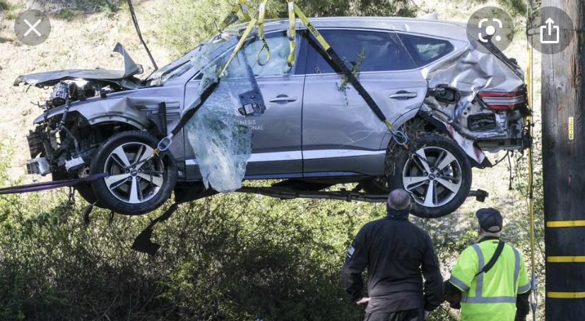 Tiger Wood's Car Crash