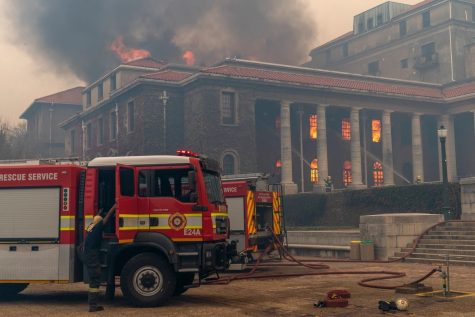 Cape Town, South Africa Goes up in Flames